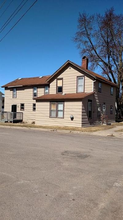 Osseo WI Multi Family Home For Sale: $86,900