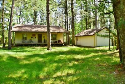 Hatfield WI Single Family Home Active Bump: $115,000