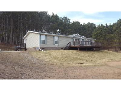 Jackson County, Clark County Manufactured Home For Sale: N3601 E Bluff Road