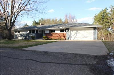 Chippewa Falls Single Family Home For Sale: 7687 189th Street