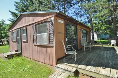 Chetek Single Family Home For Sale: 879 23 3/4 Street
