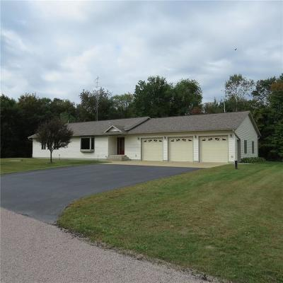 Black River Falls Single Family Home For Sale: N7801 W Snow Creek Road