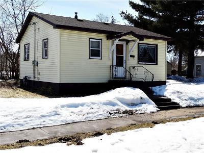 Rice Lake Single Family Home Active Offer: 312 Hartel Street