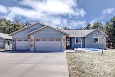 Chippewa Falls Single Family Home Active Offer: 19067 61st Avenue #North