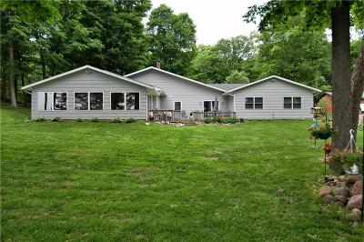 Barron County Single Family Home For Sale: 2577 27 1/4 27 3/4