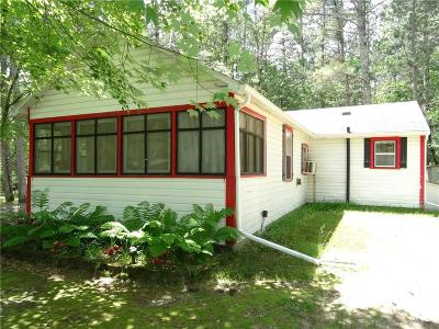 Hatfield WI Single Family Home For Sale: $119,900