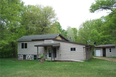 Siren WI Single Family Home For Sale: $58,500