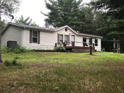 Jackson County, Clark County Manufactured Home For Sale: N4243 Tuckerway Drive