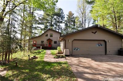 Stone Lake WI Single Family Home For Sale: $549,000