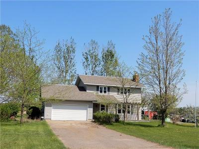 Chippewa Falls Single Family Home For Sale: 5571 County Hwy K