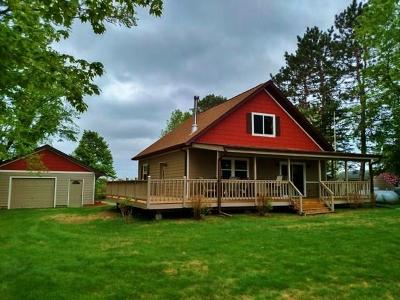 Comstock WI Single Family Home For Sale: $235,000