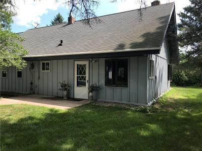 Grantsburg Single Family Home For Sale: 11457 North Shore Drive