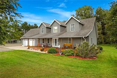 Jackson County, Clark County, Trempealeau County, Buffalo County, Monroe County, Chippewa County, Eau Claire County Single Family Home For Sale: S1066 County Road Nn
