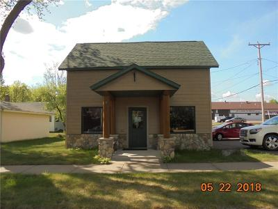 Hayward WI Commercial For Sale: $129,900