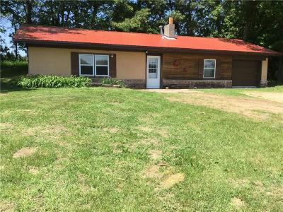 Osseo WI Single Family Home Active Offer: $112,500