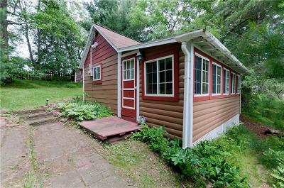 Chetek WI Single Family Home For Sale: $112,900