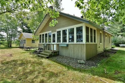Rice Lake Single Family Home For Sale: 2852 17 3/4 Street
