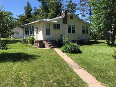 Webster WI Single Family Home For Sale: $209,900