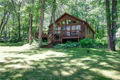 Stone Lake WI Single Family Home For Sale: $249,000