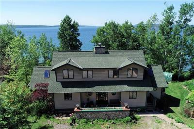 Single Family Home For Sale: 2642 North Shore Road