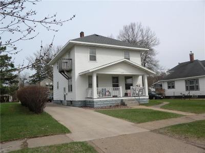 Single Family Home For Sale: 629 Spring Street