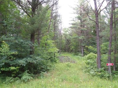 Clark County Residential Lots & Land For Sale: W8168 Poertner Road