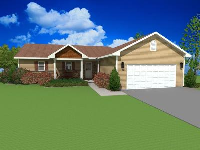 Rice Lake Single Family Home For Sale: Lot 11 27 5/8 Street