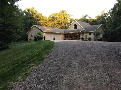Jackson County, Clark County Single Family Home For Sale: N7978 W Snow Creek Road