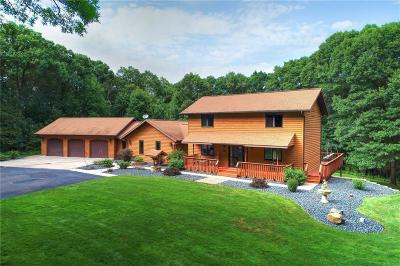 Eau Claire Single Family Home For Sale: 7020 Hickory Road
