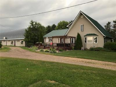 Jackson County, Clark County, Trempealeau County, Buffalo County, Monroe County, Chippewa County, Eau Claire County Single Family Home Active Offer: 30460 Hwy G