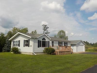 Siren WI Single Family Home For Sale: $126,000