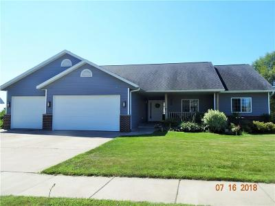 Eau Claire Single Family Home For Sale: 3127 County Farm Road