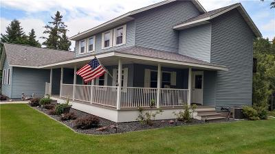 Barron County Single Family Home For Sale: 1710 Hines Lakeview Drive