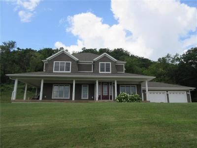 Single Family Home For Sale: W5075 Quackenbush Road