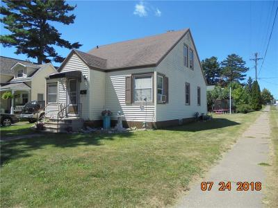 Rice Lake WI Single Family Home For Sale: $99,900