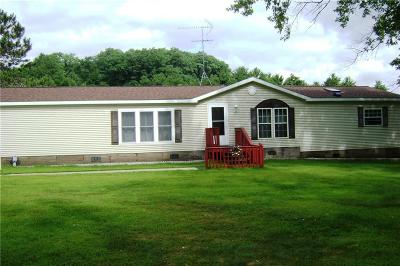 Jackson County, Clark County Manufactured Home For Sale: N8111 Allen Creek Road