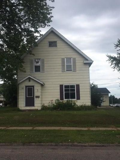 Barron WI Single Family Home For Sale: $97,500