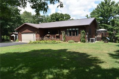 Barron County Single Family Home For Sale: 2450 10 1/16th Avenue