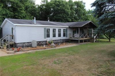 Jackson County, Clark County Manufactured Home For Sale: N10040 Jacobson Road