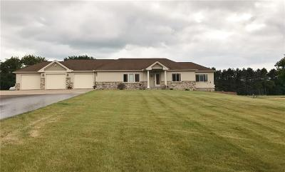 Chippewa Falls Single Family Home For Sale: 11997 County Highway B