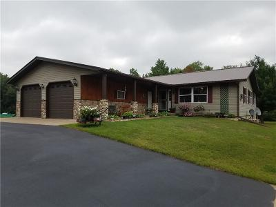 Black River Falls Single Family Home For Sale: N7370 S Odeen Road