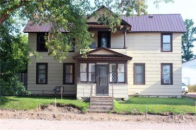 Cameron Multi Family Home Active Under Contract: 609 Main Street #1-2