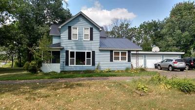 Osseo Single Family Home For Sale: N12640 Hwy G