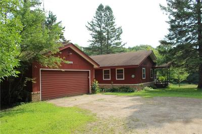 Single Family Home For Sale: N3298 Hwy 40