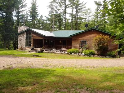 Black River Falls Single Family Home For Sale: W10289 Paulley Road