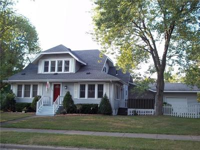 Osseo WI Single Family Home For Sale: $225,000