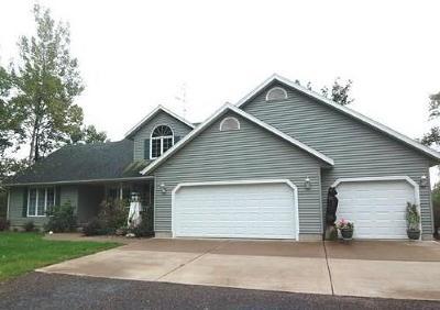 Jackson County, Clark County, Trempealeau County, Buffalo County, Monroe County, Chippewa County, Eau Claire County Single Family Home For Sale: 22697 153rd Street