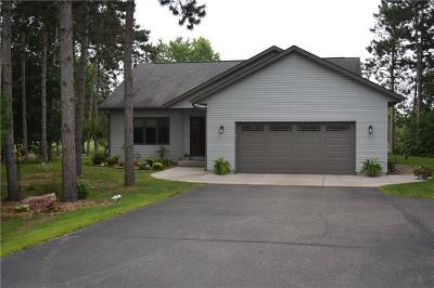 Menomonie Single Family Home For Sale: N7256 540th Street