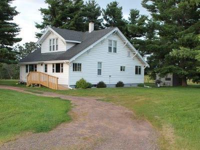 Chetek Single Family Home For Sale: 1304 N County Line Road