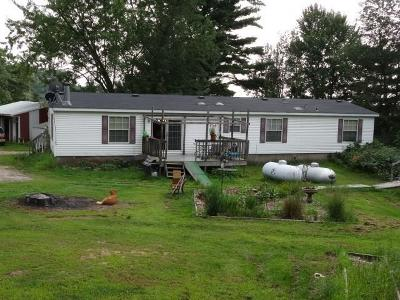 Jackson County Manufactured Home For Sale: N8080 Charcoal Road
